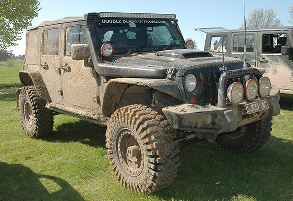 Snorkels Keep Jeeps High and Dry