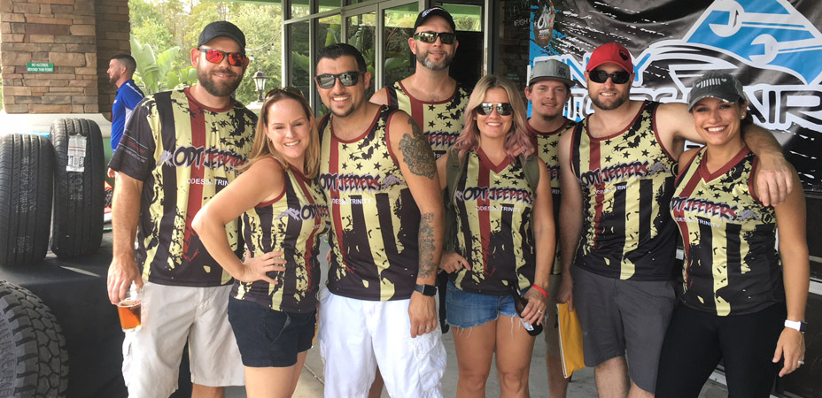 Jeepers Raise the Heat for Pasco County's Bravest