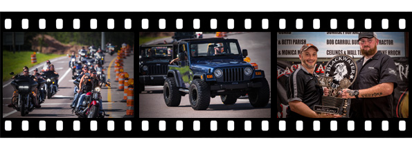 Jeeps Vs. Harleys Photos