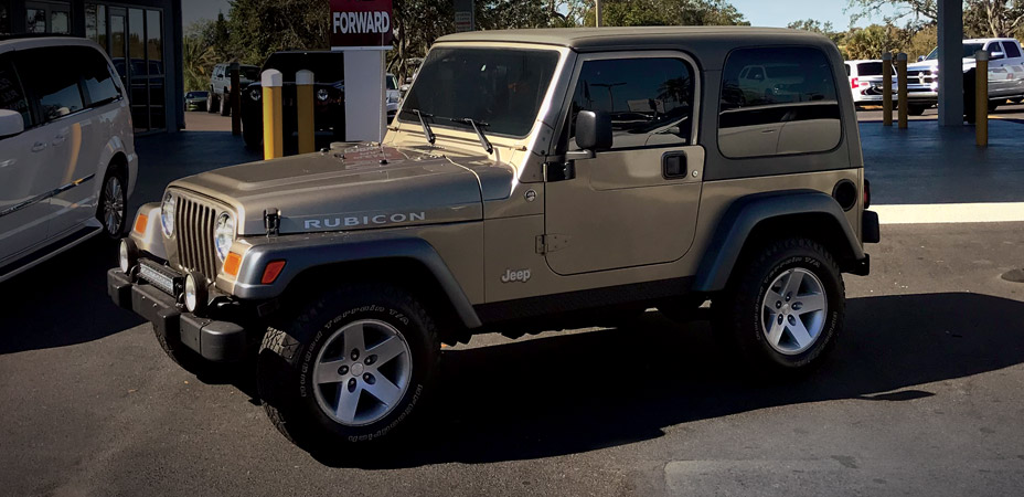 So You Bought a Used Jeep