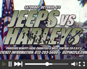 Jeeps Vs. Harleys 2018